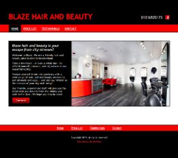 Blaze Salon Edinburgh