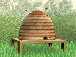 Beehive illustration for employee counselling