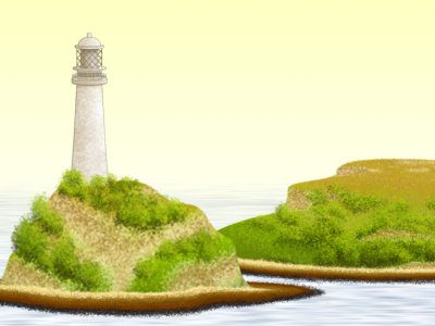 Lighthouse illustration for counselling and psychotherapy