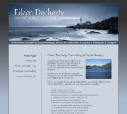 Eileen Docherty Counselling and Psychotherapy Website