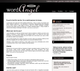 Word Angel Website