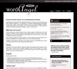 Word Angel Website