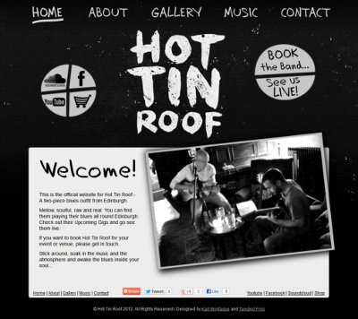 Hot Tin Roof Website