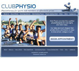 Club Physio Booking System