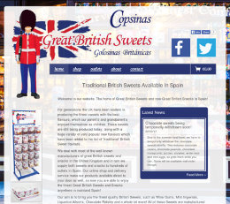 Great British Sweets eCommerce Website