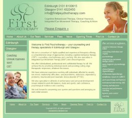 First Psychotherapy Website